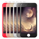 Dîner 2017 3 neufs dans 1 cas ultra mince avant + arrière de téléphone cellulaire de corps de 360 degrés de couverture de caisse de téléphone plein pour l'iPhone 7plus de l'iPhone 7/for