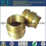 China-Lieferanten-Zoll CNC-maschinell bearbeitenmessing verlegter Rohrverbinder