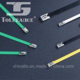 serres-câble plaqués de métal de l'acier inoxydable 94V-2