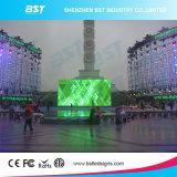 Schermo di alluminio fuso sotto pressione P8 elettronico LED esterno leggero dell'affitto LED