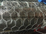 六角形ワイヤー網(電流を通されて熱浸る)