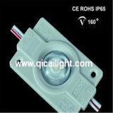 A injeção 2835 com lente Waterproof o módulo de 4 diodos emissores de luz