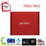 PRO cadre intelligent d'Amlogic S912 2GB/16GB TV de faisceau d'Octa de boîte à la guimauve TV de l'androïde 6.0 de Pendoo T95u