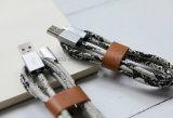 Dados da serpente de 1m linha cobrando de venda quente acessórios do cabo do carregador dos cabos do USB dos micro do telefone