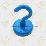 파란 네오디뮴 자석 훅, 강한 자석