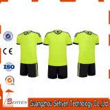 Futebol uniforme Jersey do treinamento ao ar livre do t-shirt dos esportes para homens