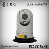câmera de alta velocidade do CCTV do carro de polícia PTZ da visão noturna HD IR do CMOS 2.0MP 80m do zoom 30X