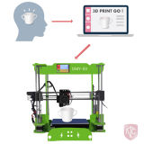 Принтер 2017 самый лучший продавая 3D с Ce & RoHS от Китая