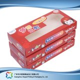 Caixa cosmética de empacotamento embalada plano barato impressa da medicina da dobradura (xc-pbn-003)