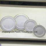 , 식기 처분할 수 있는, 플라스틱 격판덮개 쟁반, PS 다채로운, 접시 SGS 의 최신 우표 격판덮개, PA-02