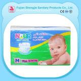 de la promoción pañal hermético flexible impreso del paño de la venta al por mayor del bebé