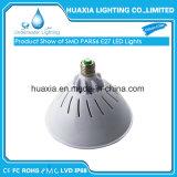 E27 LED Base piscina bajo el agua de luz LED lámpara de la piscina