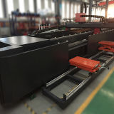 Máquina de estaca elétrica do laser da fibra do gabinete com único Workboard