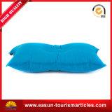 Almohadilla inflable modificada para requisitos particulares con insignia de encargo, almohadilla que acampa del cuello