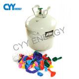 cilindro del globo del partido del helio 50L con la presión inferior