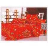 aktive gedruckte Bettwäsche 100%Cotton eingestellt für Hochzeit