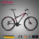 26inch 24speedのハイドロリックブレーキの女性のためのアルミニウムマウンテンバイクの自転車