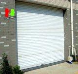 Puerta rápida de la persiana enrrollable de la puerta espiral de alta velocidad de la aleación de aluminio