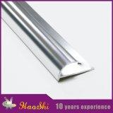 Testo fisso d'angolo protettivo delle mattonelle della parete di alluminio