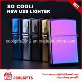 Multi-Color электронный USB способа поручая лихтер двойной дуги электрический