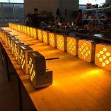 diodo emissor de luz sem fio da bateria da potência DMX de 9X10W 4in1 para o clube