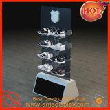 Zapatos soportes de exhibición, estante del zapato