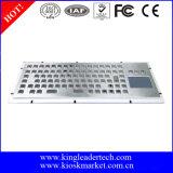 Kiosk-Tastatur der Montage-86keys mit Berührungsfläche und Funktionstasten