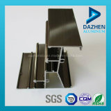 Profil en aluminium anodisé d'extrusion avec la taille personnalisée