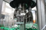 Monoblock 3 dans 1 machine de remplissage carbonatée de boissons de bouteille en verre avec le chapeau en aluminium
