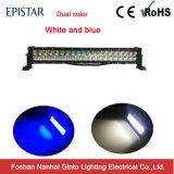 Modèle neuf barre duelle blanche et bleue de 120W de couleur d'éclairage LED (GT31001-120Ep)