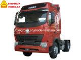 Тележка трактора головки 4X2 трактора Sinotruk HOWO-A7 340HP 6-Wheel