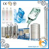 Planta/água do tratamento da água do RO que processa o filtro