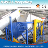 Lavage des bouteilles en plastique de rebut réutilisant la machine