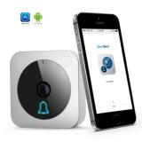 Câmera 2016 interna do CCTV da segurança da visão noturna da fiscalização da câmera HD P2p do IP do Doorbell Qf600 WiFi de Newst Escam mini com o cartão do TF SD