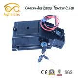 Bateria de motor de bicicleta eletrica de lítio de 36V com caixa de controle remoto