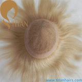 보편적인 가벼운 금발 색깔 Virgin Remy 머리 보충
