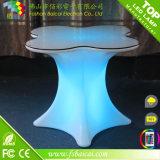 Мебель штанги осветила цвет изменяя мебель салона СИД сделанную из пластмассы PE