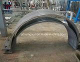 Comité van het Roestvrij staal van de Laser van de Plaat van het Roestvrij staal van Bended het Scherpe met Ontwerp Cutomized