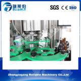 Máquina de rellenar de las bebidas no alcohólicas carbónicas automáticas (botella de cristal)