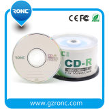 Venta al por mayor de fábrica de CD en blanco 700MB 52X 80mins