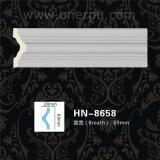 Stuhl-Schiene und Wände PU-Gesims-formendes Eckpanel Hn-8658
