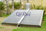 Nicht druckbelüfteter Ein-Flügel Solarheißwasser-Heizungs-Sammler-Projekt