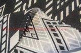 Fibra de poliéster Tecido Jacquard tingido para sacos de sacos de roupa Sofá