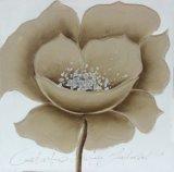 Peinture à l'huile spéciale fabriquée à la main de fleur de couleur pour la décoration à la maison