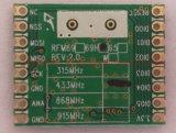 Sensibilidade sem fio 869/915/315/433MHz do módulo de receptor Rfm69h do transmissor -120dBm