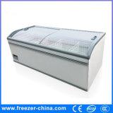 Congelador grande excelente da caixa do indicador do console da capacidade do estilo 1000L de Aht da qualidade