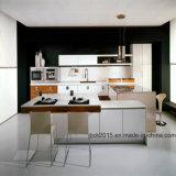 Mobília 2017 da cozinha do lustro de Bck e gabinete de cozinha elevados modernos (BCK-K028)