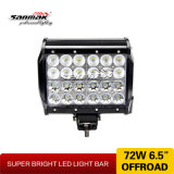 6.5inch 72W Vierling Row CREE LED Light Bar voor Offroad