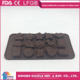 Прессформа шоколада силикона прессформы шоколада дешевого цены домодельная