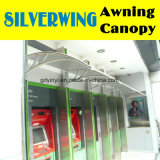 Im FreienDIY Polycarbonat ATM-Maschinen-Markise mit Plastikhaltern (YY1000-C)
